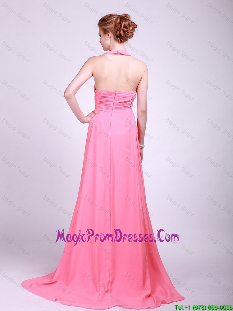 Affordable Watermelon Prom Dresses with Hand Made Flower ...