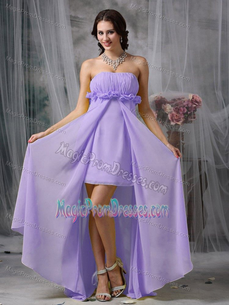 sc 1 st  Prom Dresses & High-low Purple Semi-formal Prom Dress in Lilac in Lake Oswego OR