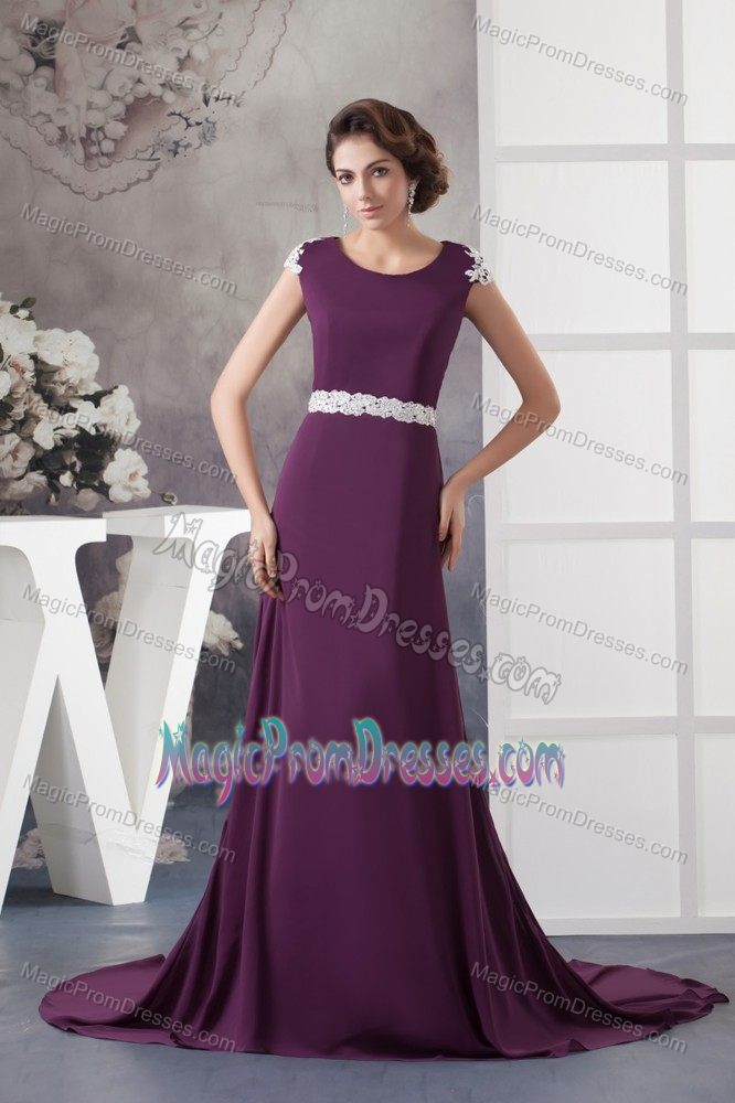 Dark Purple Prom Dresses 2017 Cheap Prom Gowns