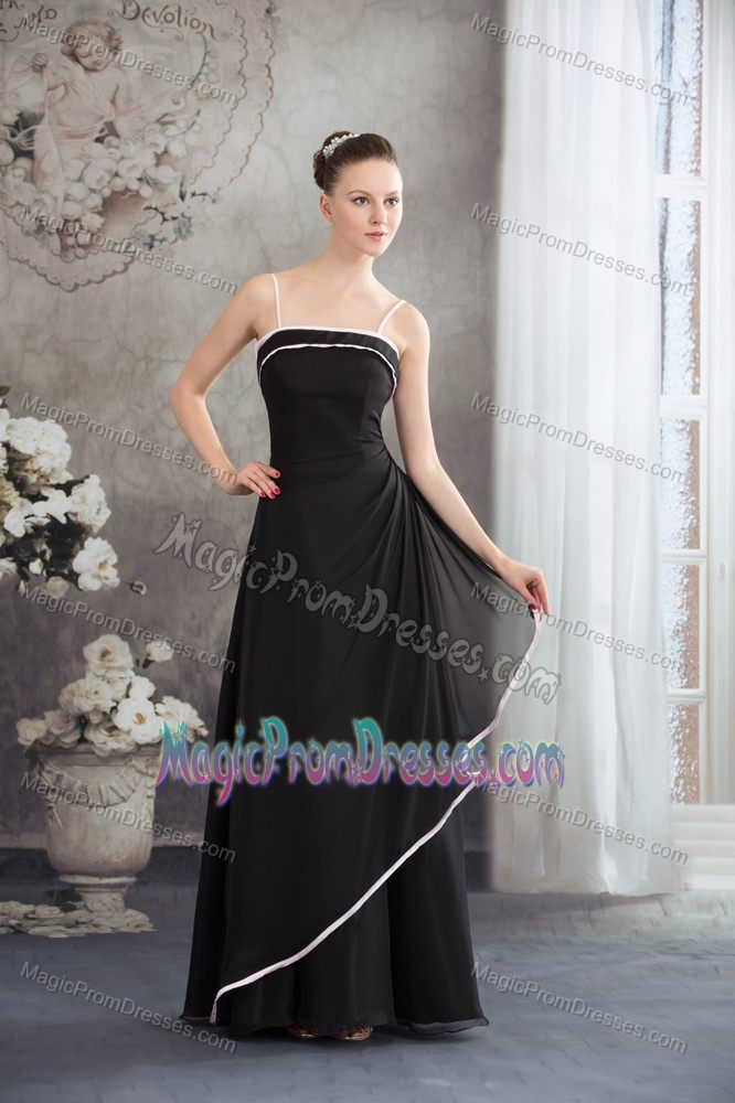 Long Semi Formal Prom Dress With Spaghetti Straps In Fort Worth