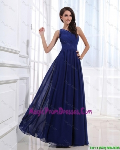 New Arrivals Empire One Shoulder Prom Gowns with Beading