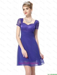 New Style Sweetheart Short Prom Dresses with Lace