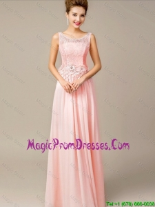 Romantic 2016 Appliques and Laced Prom Dresses with Lace Up