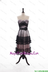 Low price A Line Sweetheart Prom Dresses with Ruffled Layers