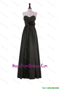 Perfect A Line Sweetheart Prom Dresses with Hand Made Flowers
