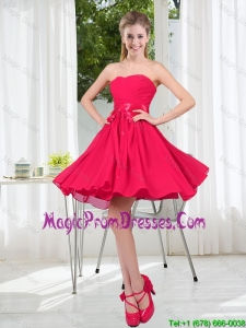 Custom Made A Line Sweetheart Prom Dress in Chiffon