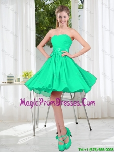 A Line Sweetheart Belt Prom Dresses for Party
