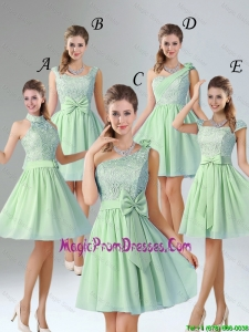 Romantic Short Prom Dresses with Hand Made Flower for Wedding Party
