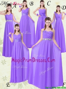 Exclusive Empire Floor Length Prom Dresses for Fall