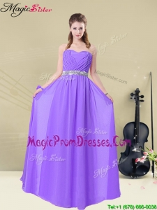 New Arrivals Sweetheart Floor Length Prom Dresses for Fall