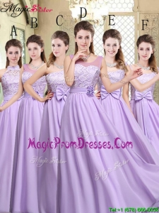 Hot Sale Empire Lavender 2016 Prom Dresses