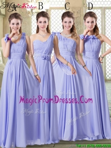 2016 Pretty Empire Floor Length Prom Dresses in Lavender