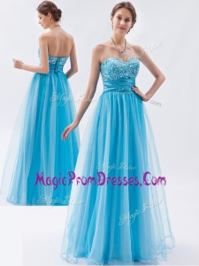 Famous Empire Sweetheart Beading Prom Dresses for Pageant