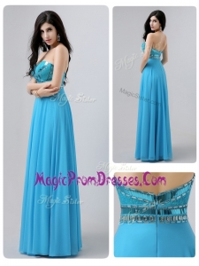 Latest Famous Empire Beading and Sequins Prom Dresses for Summer