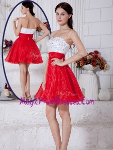 New Short Sweetheart Beading Prom Dresses for Cocktail