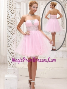 Exclusive Strapless Beading Short Prom Dress for Homecoming
