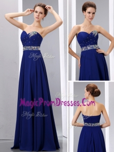 New Style Empire Sweetheart Prom Dress with Beading
