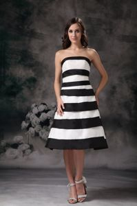 Brunswick USA Affordable White and Black Short Prom Outfits Patterns