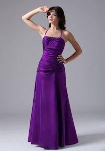 Best Seller Halter Purple Long Prom Gown Dress in Canal Winchester USA
