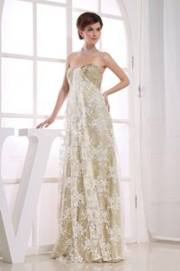 Multi-color Sequins and Lace Sweetheart Floor Length Prom Dress