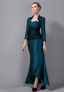 High-Class Sweetheart Turquoise Mermaid Formal Prom Dress for a Cheap Price