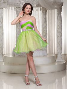 Beaded Mini-length Organza Prom Gown Dresses in Queanbeyan NSW