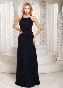 Scoop Black Custom Made Semi-formal Prom Dresses in Waukesha