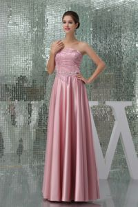 Long Strapless Formal Prom Dresses with Beading in Campbelltown