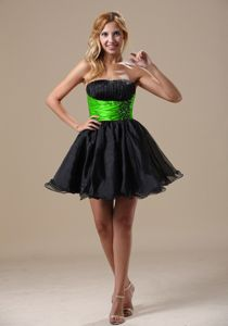 A-line Beaded Black Informal Prom Dresses in Hilton Head Island SC