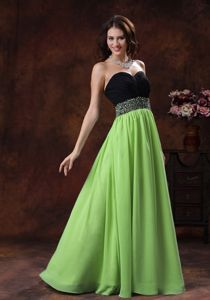 Two-toned Chiffon Sweetheart Beading Prom Gown Dress in Lacock Wiltshire