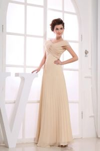 Flattering V-neck Ruched Junior Prom Dress with Pleat in Botley Oxfordshire