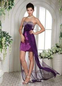 Affordable Sweetheart High-low Beaded Prom Gown Dress in Bacup Lancashire
