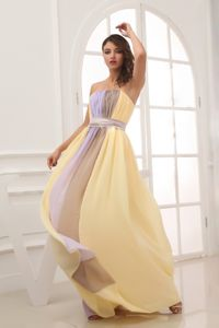 New Arrival Multi-color Ruched Chiffon Prom Dress for Petite Girls