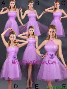 The Super Hot Lilac A Line 2016 Prom Dress