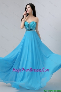 Latest Sweetheart Prom Dresses with Beading and Sequins