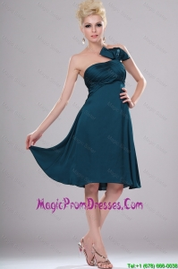 Womderful Short Strapless Prom Dresses with Ruching