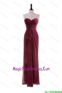 2016 Fall Beautiful Empire Sweetheart Prom Dresses with Belt