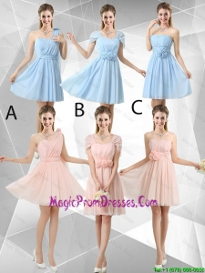 Beautiful Hand Made Flowers Prom Dresses with Mini Length