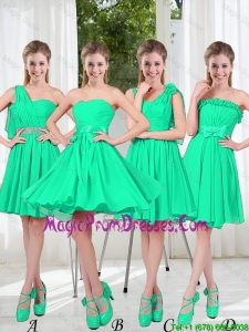 Turquoise Short Prom Dresses in Fall
