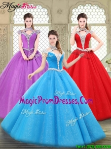 2016 Perfect Halter Top Prom Gowns with Beading