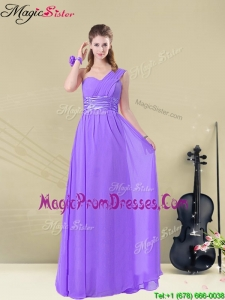 Lovely Empire Floor Length Prom Dresses for Fall