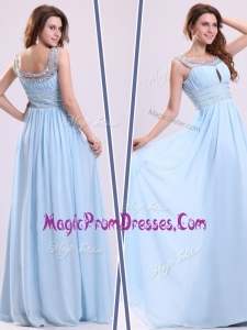 Perfect Empire Straps Sweetheart Prom Dresses with Beading