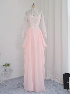 Custom Design Sleeveless Beading Zipper Homecoming Dress