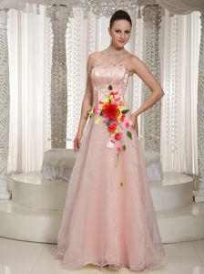 Beading and Flowers Halton Hills for Dresses for Prom Queen in Pink
