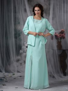 Plus Size Scoop Neck Apple Green Long Prom Dresses in Windham NY
