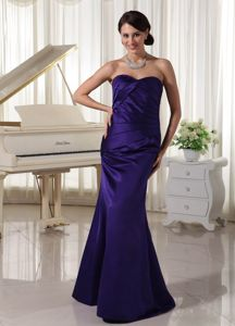 Plus Size Dark Purple Long Prom Gown Dresses in Nelsonville OH
