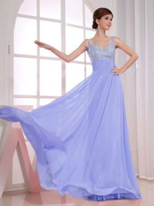 Beaded Straps Lilac Semi-formal Prom Dresses in Victor Harbor SA