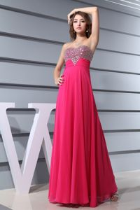 Hot Pink Sweetheart Beading Bodice Junior Prom Dress in Doncaster South Yorkshire