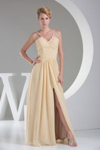 Floor-length V-neck Cap Sleeves Prom Gowns in Prestwick Strathclyde