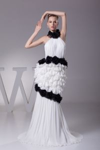 Silver Sequined One Shoulder Floor-length Dress for Prom in Vogue